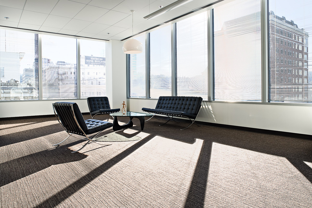 Modern architecture interior office - White Interior Architectural Interior Of Modern Office Space In Downtown Portland Oregon